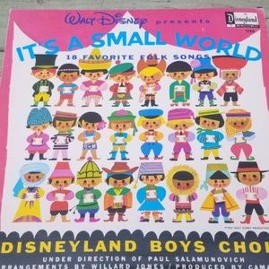 Disney, Vinyl Record, Vintage, Its a small world